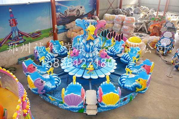 激战海豚岛游乐设备
