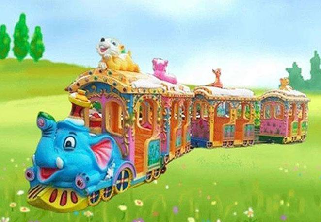 大象火车游乐设备